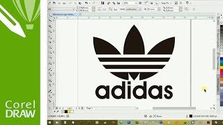 How to Make Adidas Logo in CorelDRAW a270cfc00d