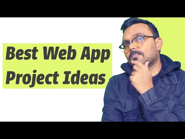 Web Application Project Ideas | learning practice for new developers