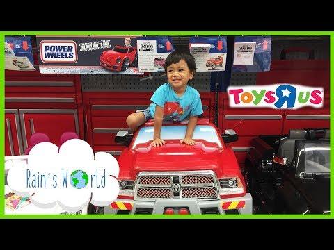 Toys R Us POWER WHEELS THOMAS MEGA BLOKS FIRE TRUCK MICKEY MOUSE Fun!