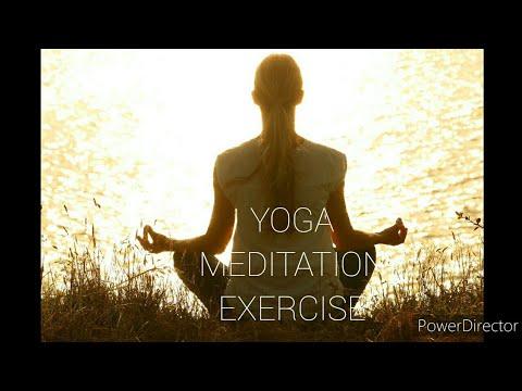 yoga meditation relax exercise  youtube
