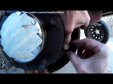 Замена задних тормозных колодок НИВА сп.1 Сами меняем тормозные колодки НИВЫ