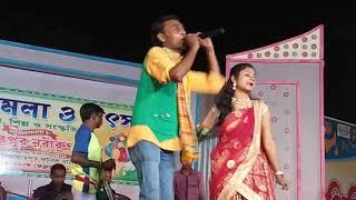 Poritosh & mita jhumur stage program