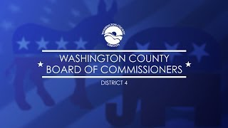 Washington County Board of Commissioners District 4 Candidates Forum 4 3 18
