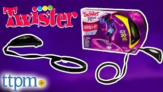 Twister Rave Skip-It from Hasbro
