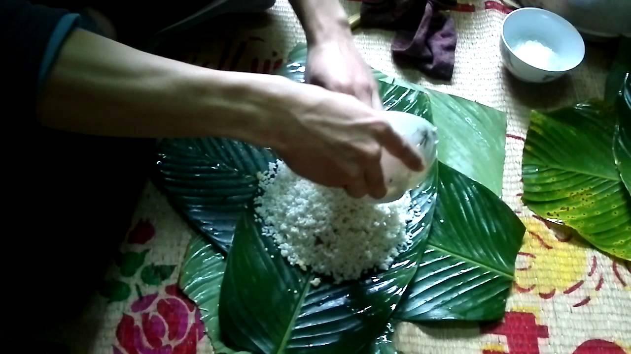 Cach lam banh chung How to make - 87.9KB