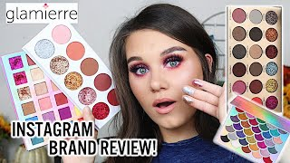 AFFORDABLE INSTAGRAM BRAND REVIEW - GLAMIERRE   HITS & MISSES!!