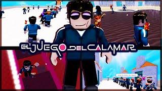 ROBLOX y los Juegos del Calamar *Vegetta777*