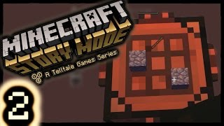 STONE SWORD? | Minecraft : Story Mode #2 (Episode 1)