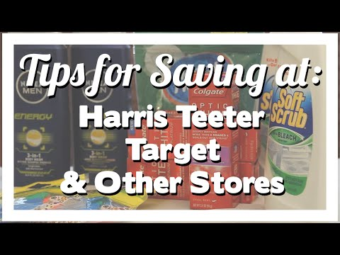 Tips for Saving at Target, Harris Teeter & Other Stores
