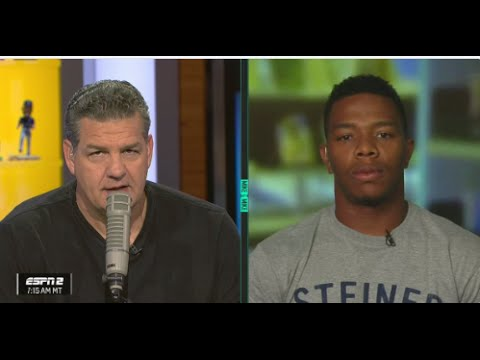 RAY RICE SAYS HE THINKS HE WILL PLAY IN THE NFL AGAIN ON MIKE & MIKE!