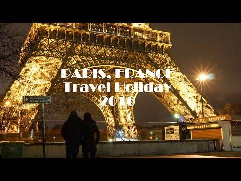 PARIS, FRANCE 2016 Travel Holiday - GoPro Hero 4 Session