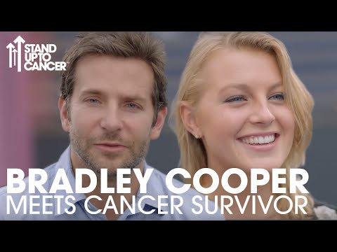 Bradley Cooper Meets Up With Inspiring Cancer Survivor | Stand Up To Cancer