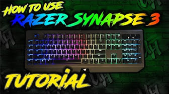 Razer Synapse 3 Tutorial | Studio | Razer Keyboard Lighting