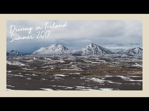 Driving in Iceland (Ring road) + Sights | Summer June 2017