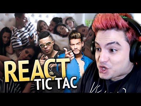 REAGINDO A TIC TAC - MC LAN E LUCAS LUCCO