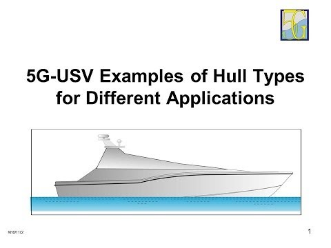 5G Marine: Hull & Propulsion Types