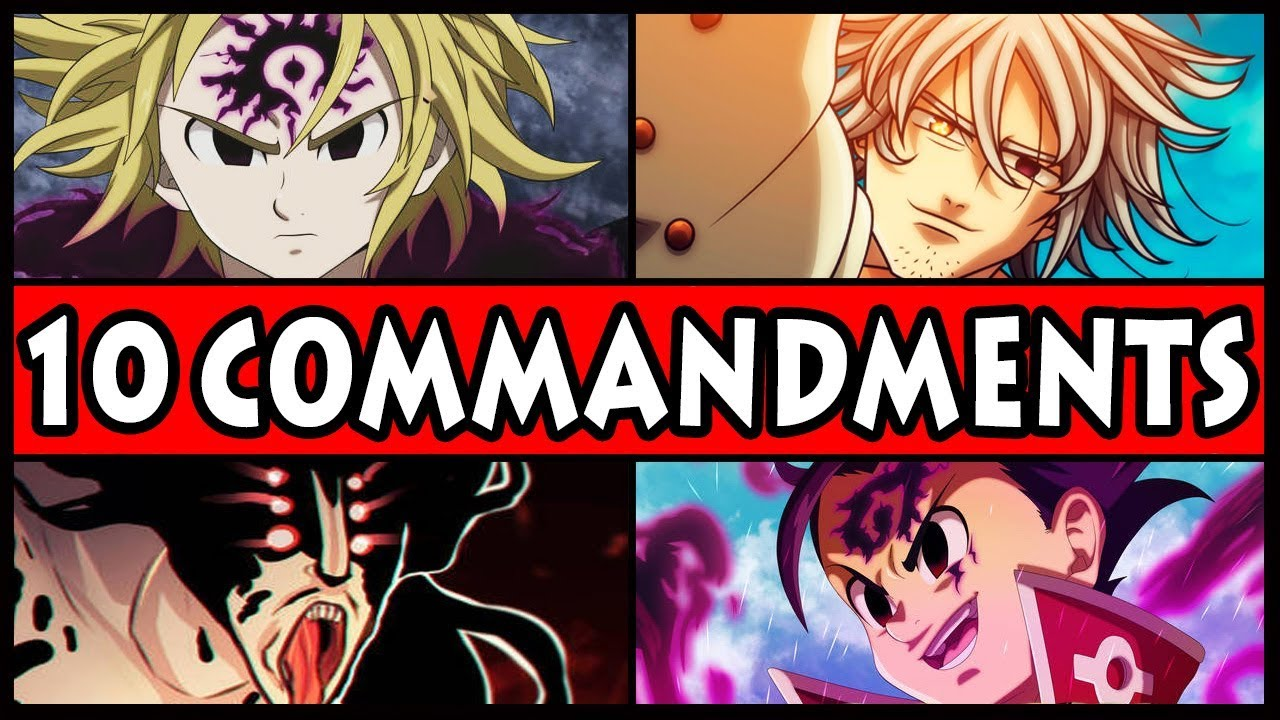 10 commandments seven deadly sins # 1