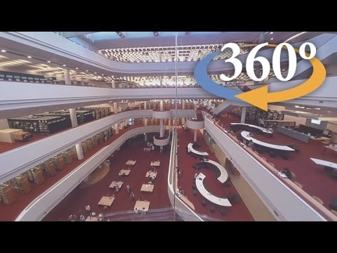 The World Of The Toronto Public Library (360 Video)