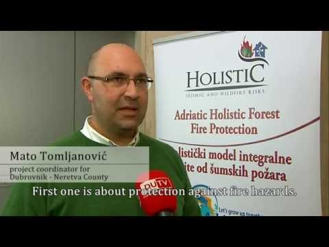Holistic Project - Dubrovnik Neretva County - Earthquakes seismic risks intervention
