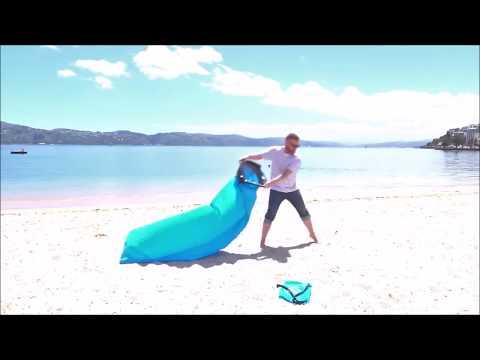 Φουσκωτή ξαπλώστρα παραλίας lazy sun bed από την CAMPUS