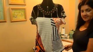 DIY – Blusa de Retalhos – Faça suas próprias roupas sustentáveis
