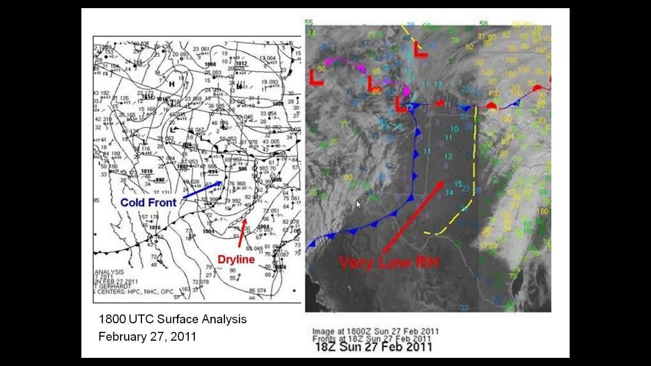 Critical Fire Weather Patterns Western United