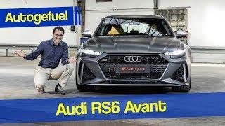 The most powerful estate? Audi RS6 Avant REVIEW 2020 - Autogefuel