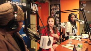 Wing Girl(Marni Kinry) on Sway in the Morning part 1/2 | Sway's Universe