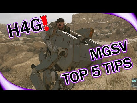 MGSV Top 5 Beginner Tips - How to get Weapon Customization - Mother Base Upgrades (1080p 60fps)