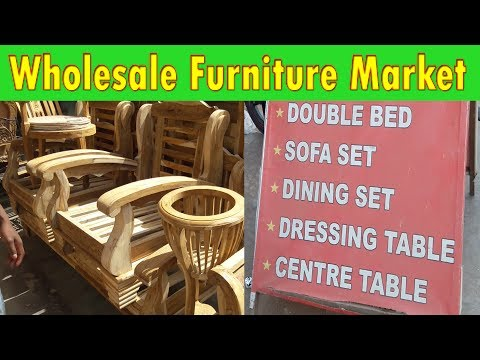 Wholesale furniture market | explore sofa, bed, office furniture | kirti nagar furniture market