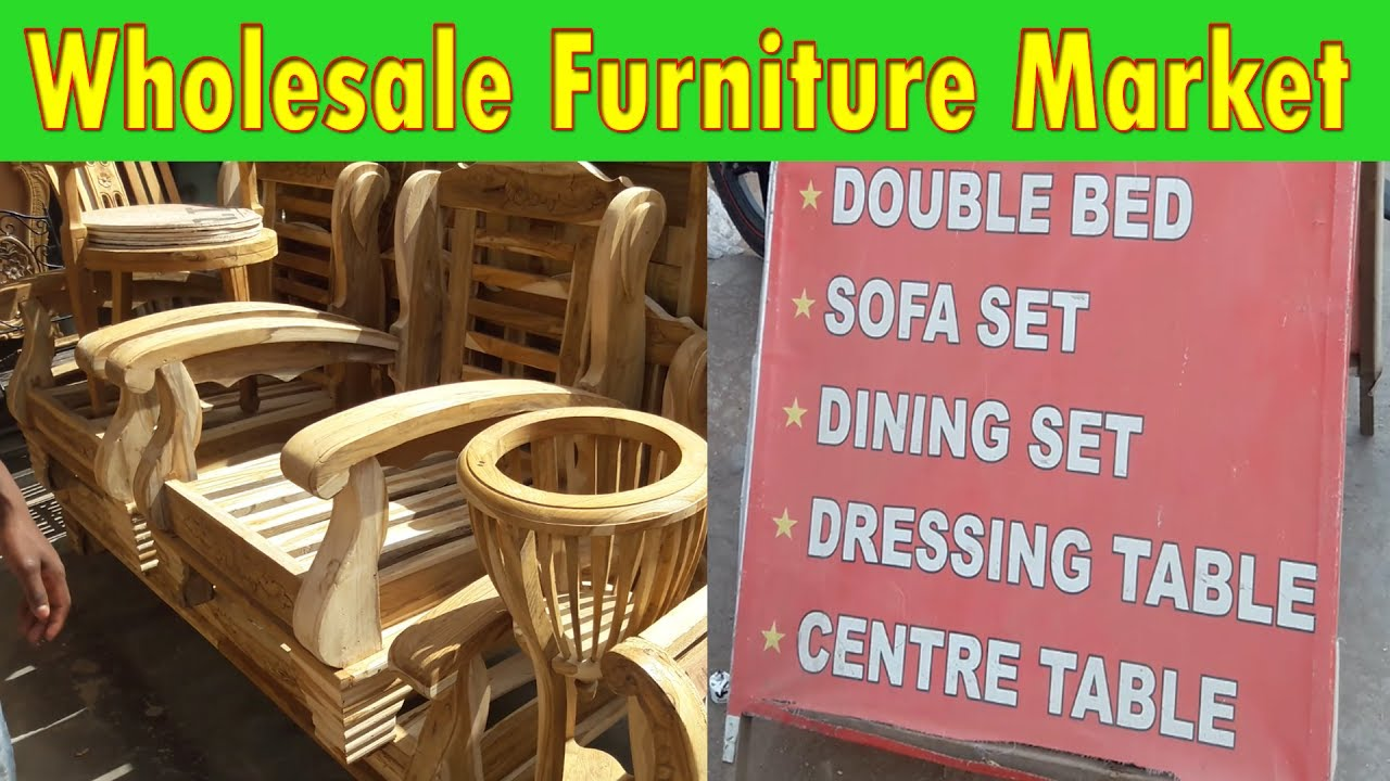 Wholesale Furniture Market Explore Sofa Bed Office