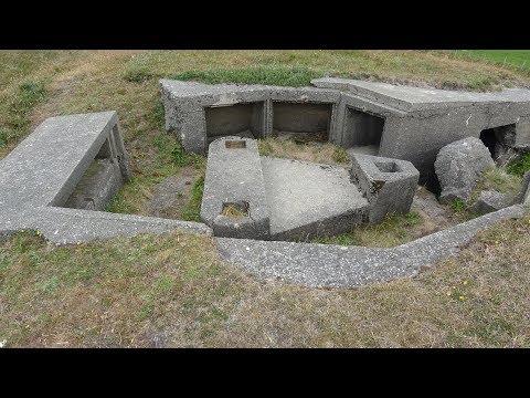 German WW2 Atlantic Wall location, Hidden secrets in the ground ,