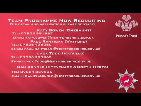 Princes Trust Team Programme Cheshunt 11