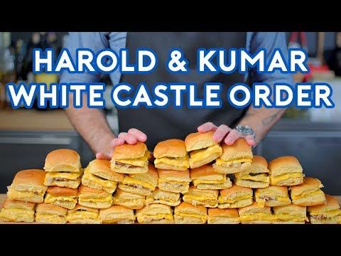 Binging with Babish: White Castle Order from Harold & Kumar - Видео онлайн