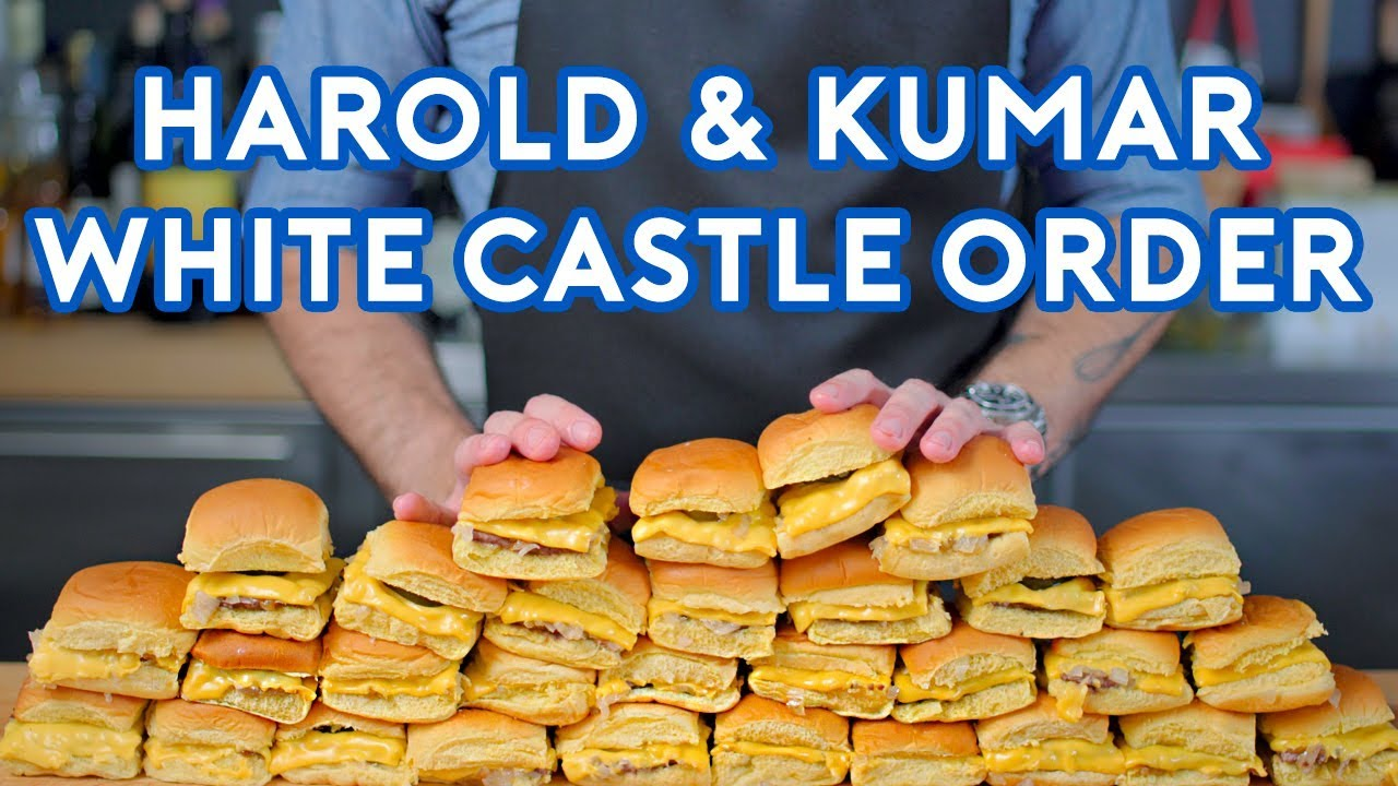 Binging With Babish' Recreates The White Castle Order From