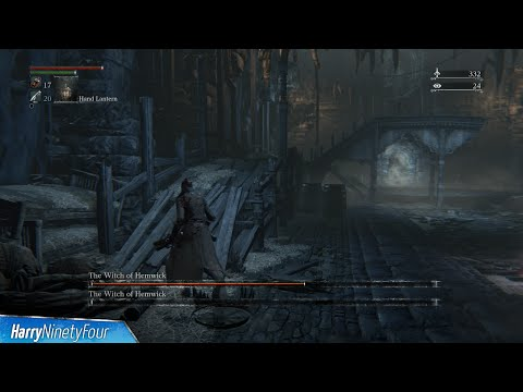 Bloodborne The Witch Of Hemwick Location And Boss Fight The