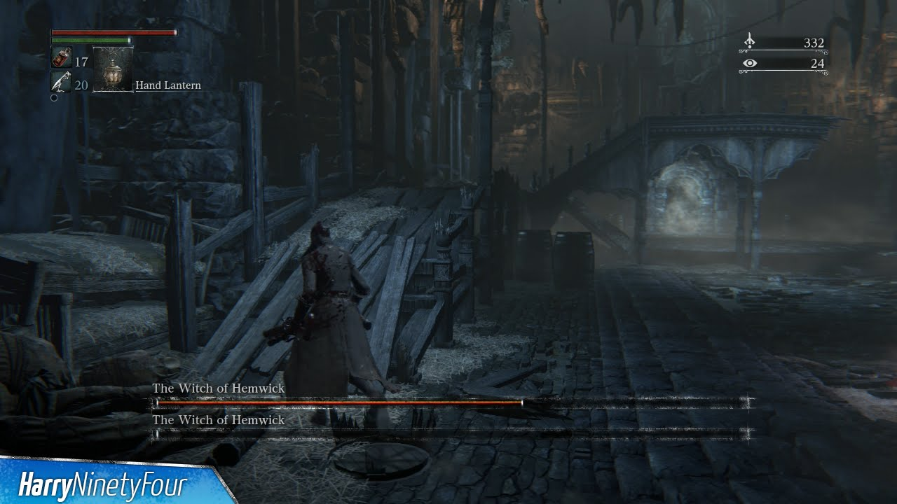 Bloodborne - The Witch of Hemwick Location and Boss Fight (The Witch of  Hemwick Trophy Guide)