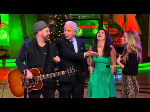 Sugarland's Kristian Bush performs 'Drinkin' for Christmas' on Good Day LA