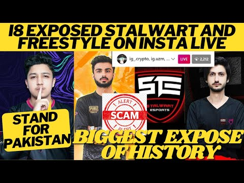 I8 Exposed Stalwart And FreeStyle On Insta | Crypto Full Insta Live | #standforpakistan |ste Exposed