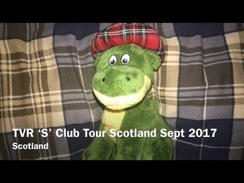 TVR S Club Scotland Tour 2017