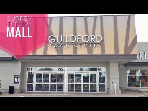 Guildford  Mall Tow centre Surrey  Đi shopping mall Surrey BC Canada