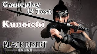 Black Desert Online - Test Kunoichi | Gameplay [FR]