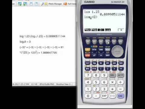 logarithmic and exponential - YouTube