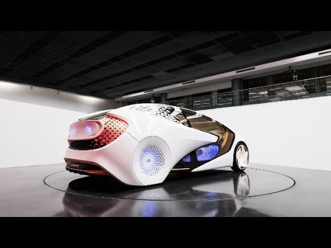 Toyota's space-age concept car for 2030