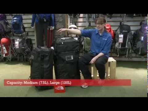 The North Face Rolling Thunder Duffle Bag - YouTube 216b1266dff27