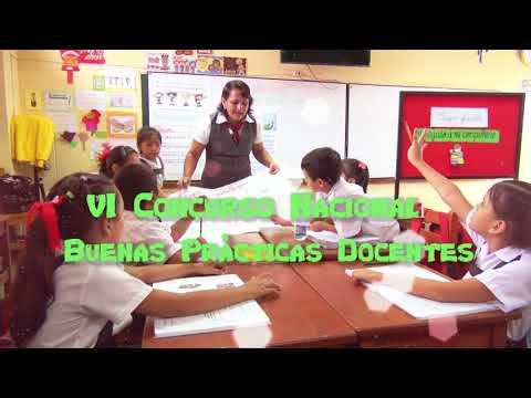 VI CONCURSO NACIONAL DE BUENAS PRÁCTICAS DOCENTE