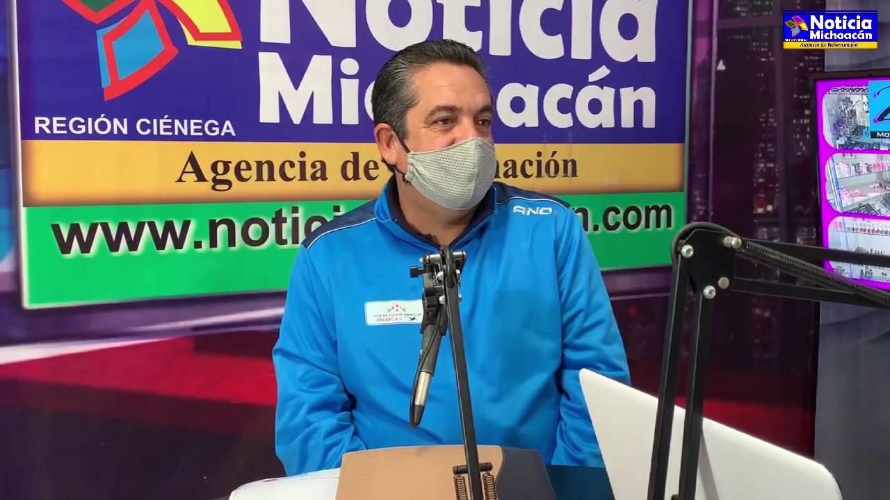 Estamos comprometidos para mejorar el estadio municipal de Zacapu: César Alejandro Silva