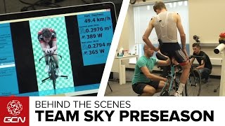Medical Testing With Team Sky: What Happens At A Pre-Season Camp?