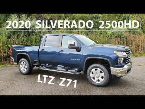 2020 Chevy SILVERADO 2500 HD LTZ z71 - DURAMAX Diesel w/ ALLISON Transmission - WALKAROUND & REVIEW