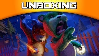 Unboxing Naughty Bear Double Trouble [PS3]